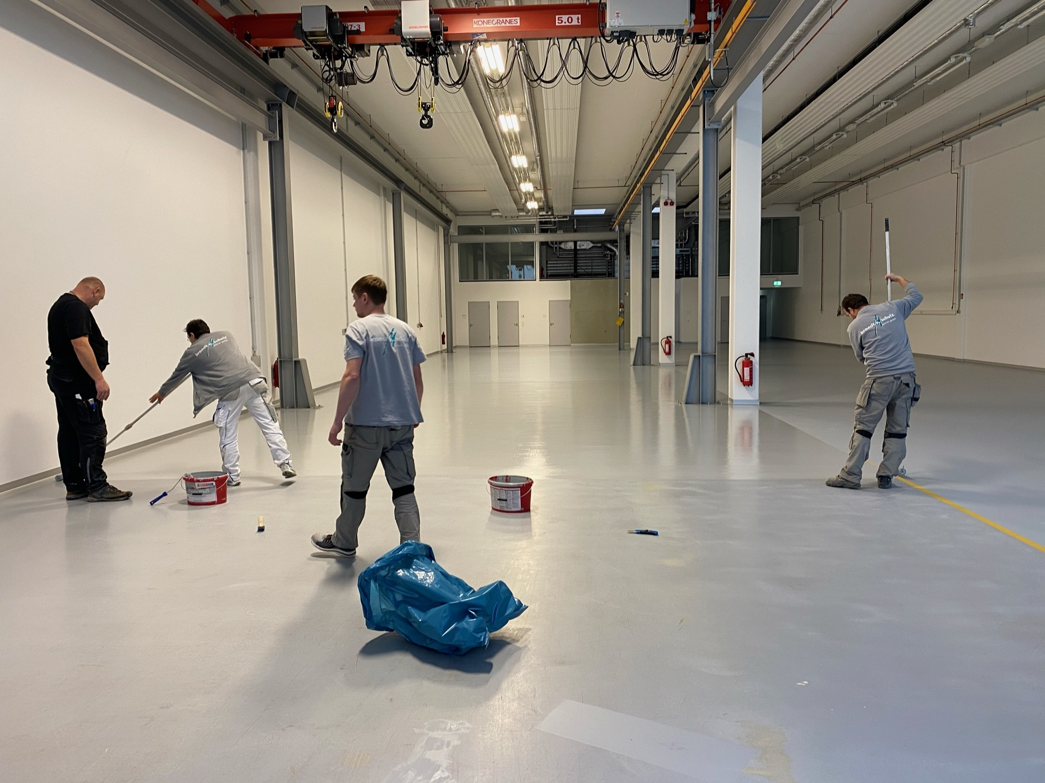Brandt und Schulz Hallenbeschichtung Industriebeschichtung Fußbodenbeschichtung